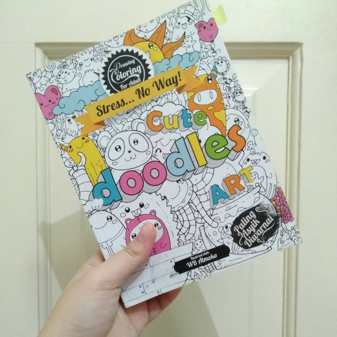 DOODLES Anti-Stress Coloring book | #MakingTheBest