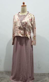 Dress Sofia Hanbok Sakura Maxidress Warna Taro