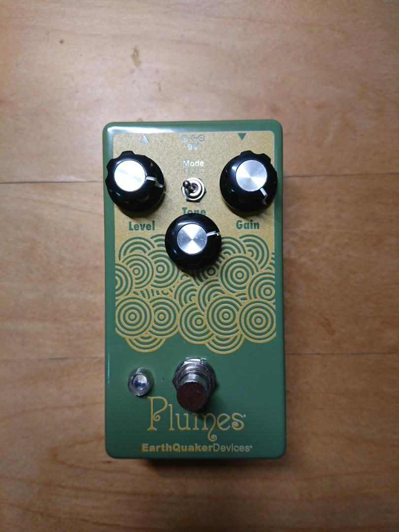 Earthquaker Devices Plumes 破音效果器