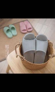 Eva Couple Slippers Massage Bathroom Non-slip Indoor Slippers