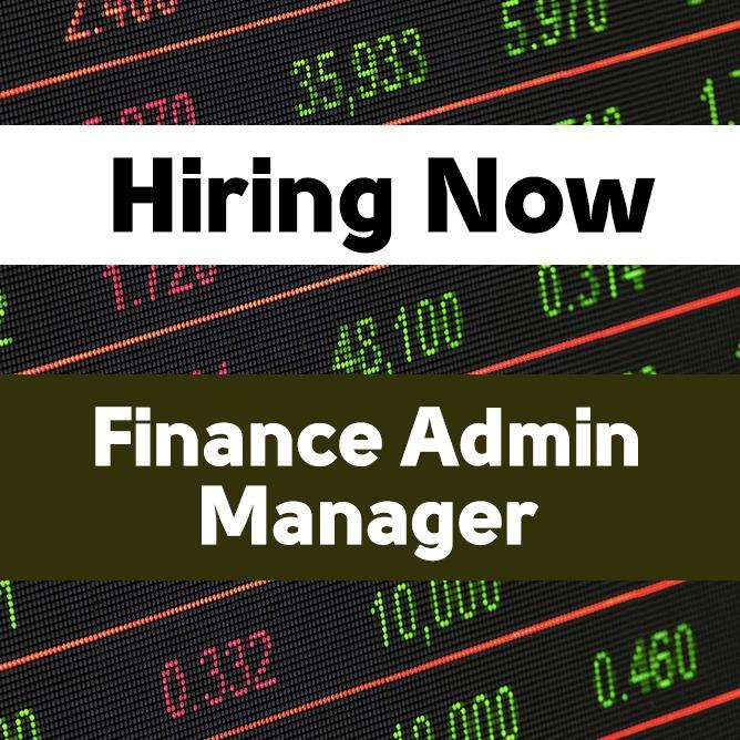 Finance Admin Manager