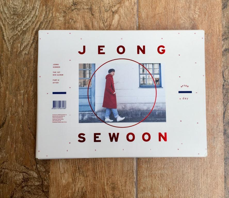 Jeong Sewoon 1st Mini Album Part2 After