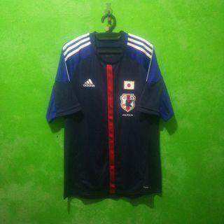 Jersey bola Jepang home 2012 Adidas Original size M