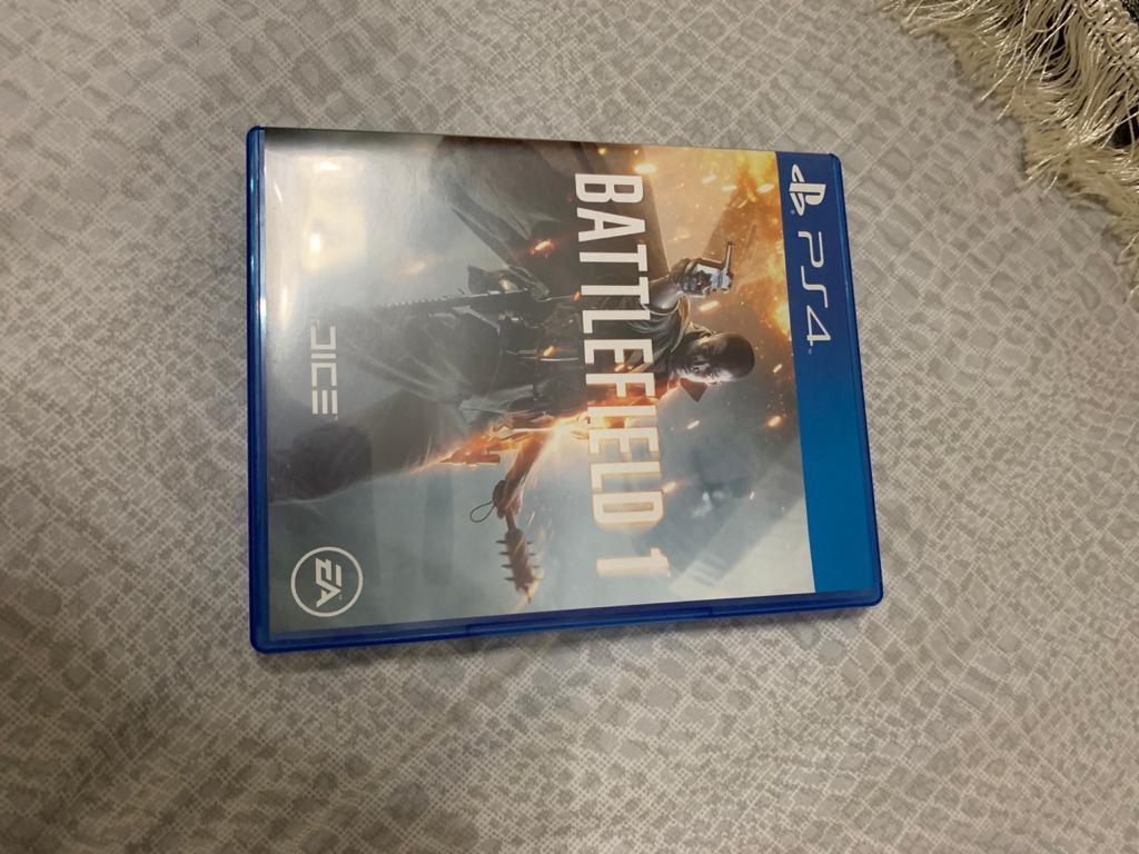 Kaset CD PS4 battlefield