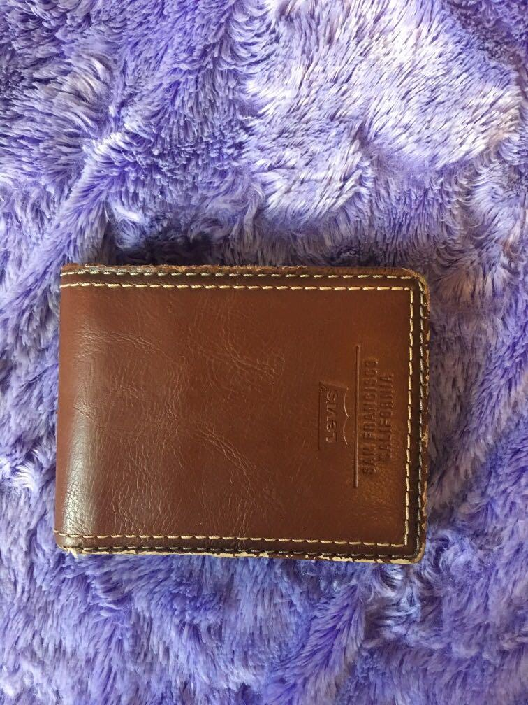 Levi leather wallet