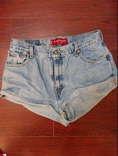 Levi's Denim High Waisted Shorts