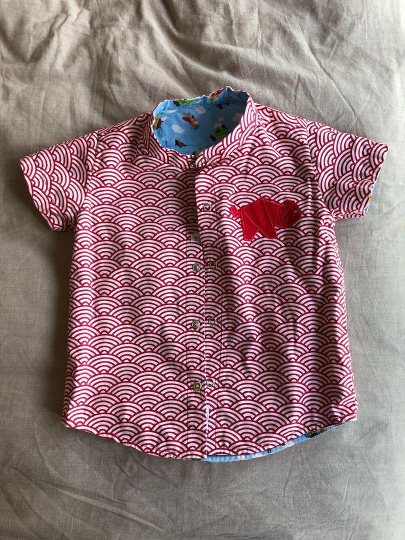 Maison-Q Reversible shirt