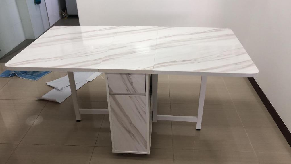Marble Table Top Wrap Sticker Wallpaper Home Decor Furniture Home Decor Others On Carousell
