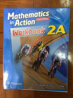 Mathematics In Action Workbook Third Edition 2A