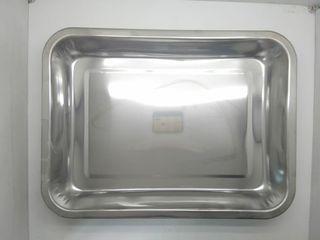 Nampan 36x20 stainless steel