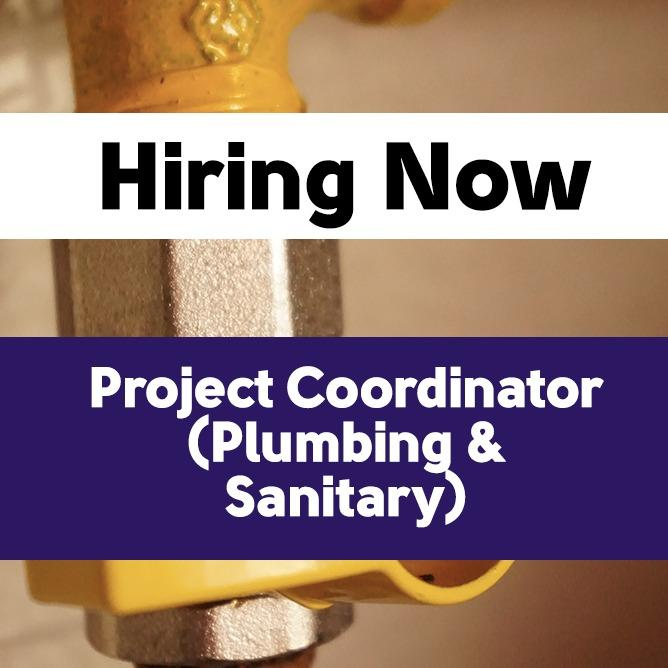 Project Coordinator (Plumbing & Sanitary)