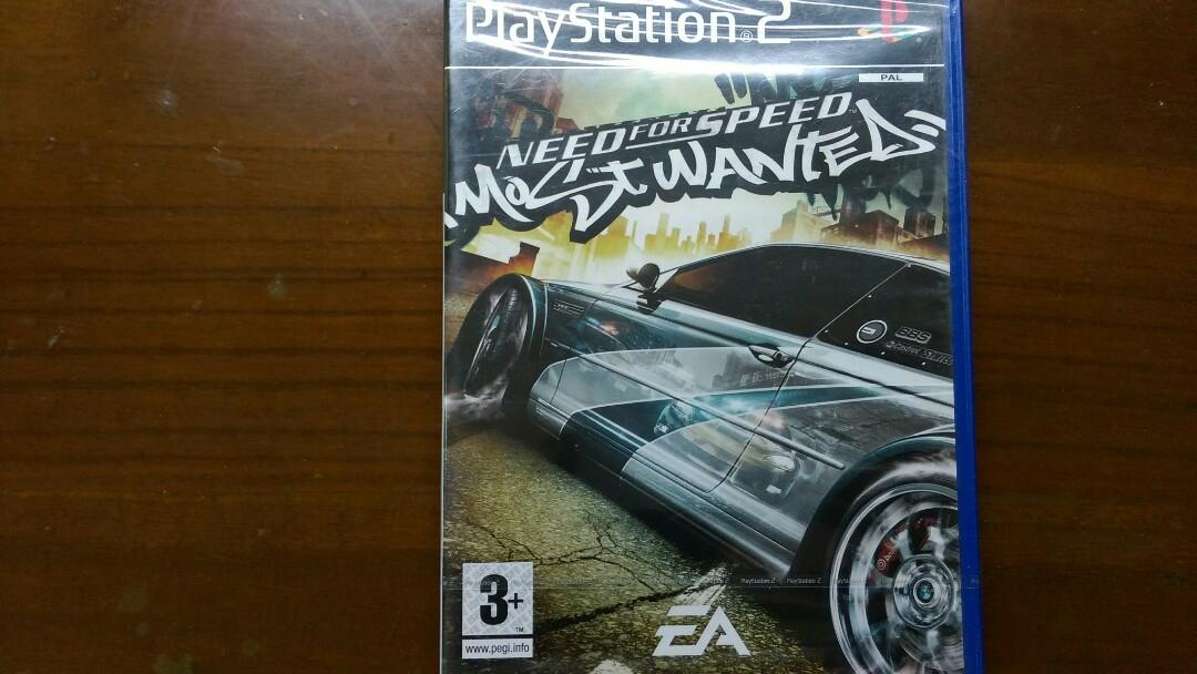PS2 極速快感 全民公敵 Need for Speed Most Wanted 賽車 遊戲