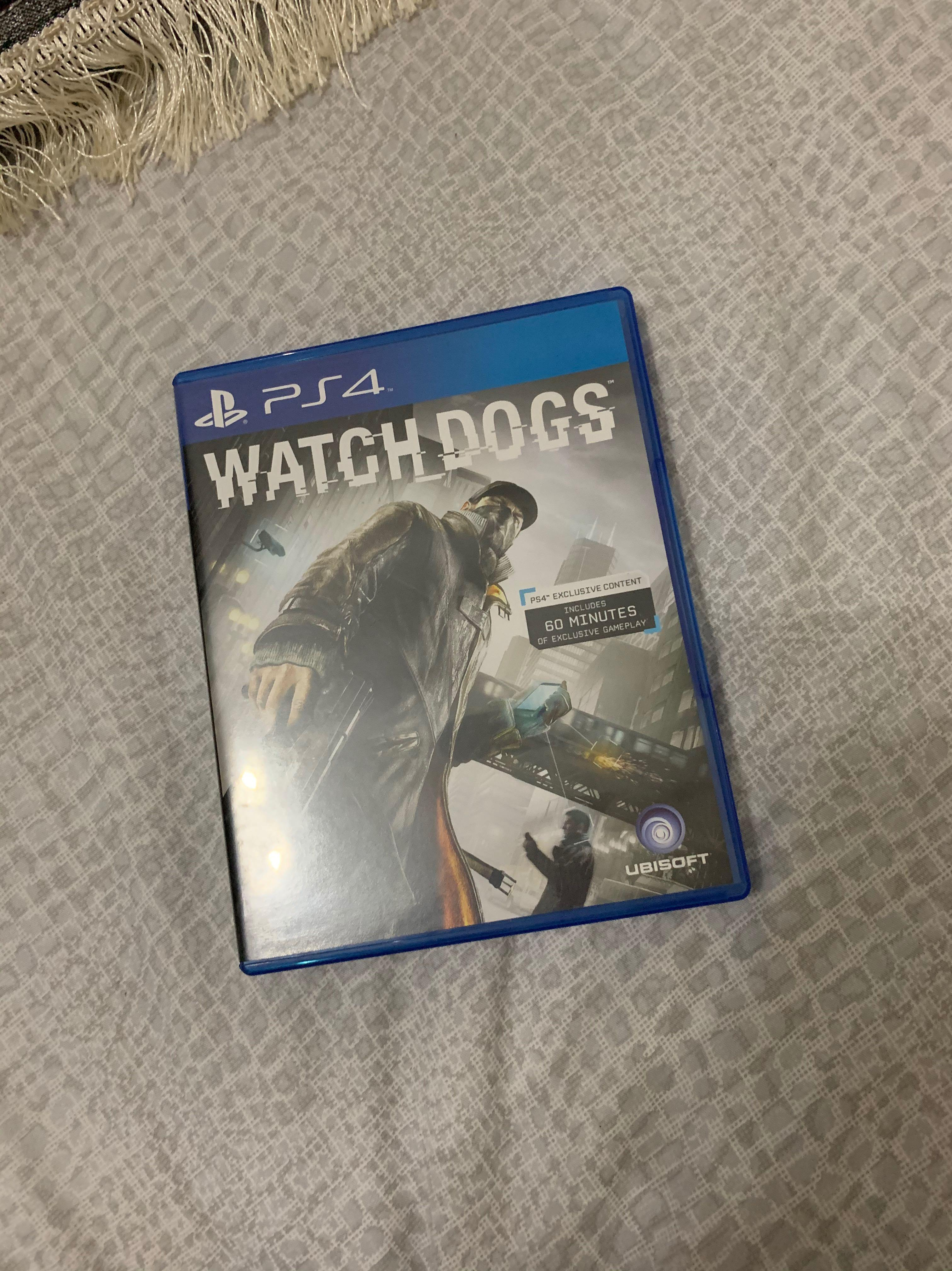 PS4 Watchdogs (Used)
