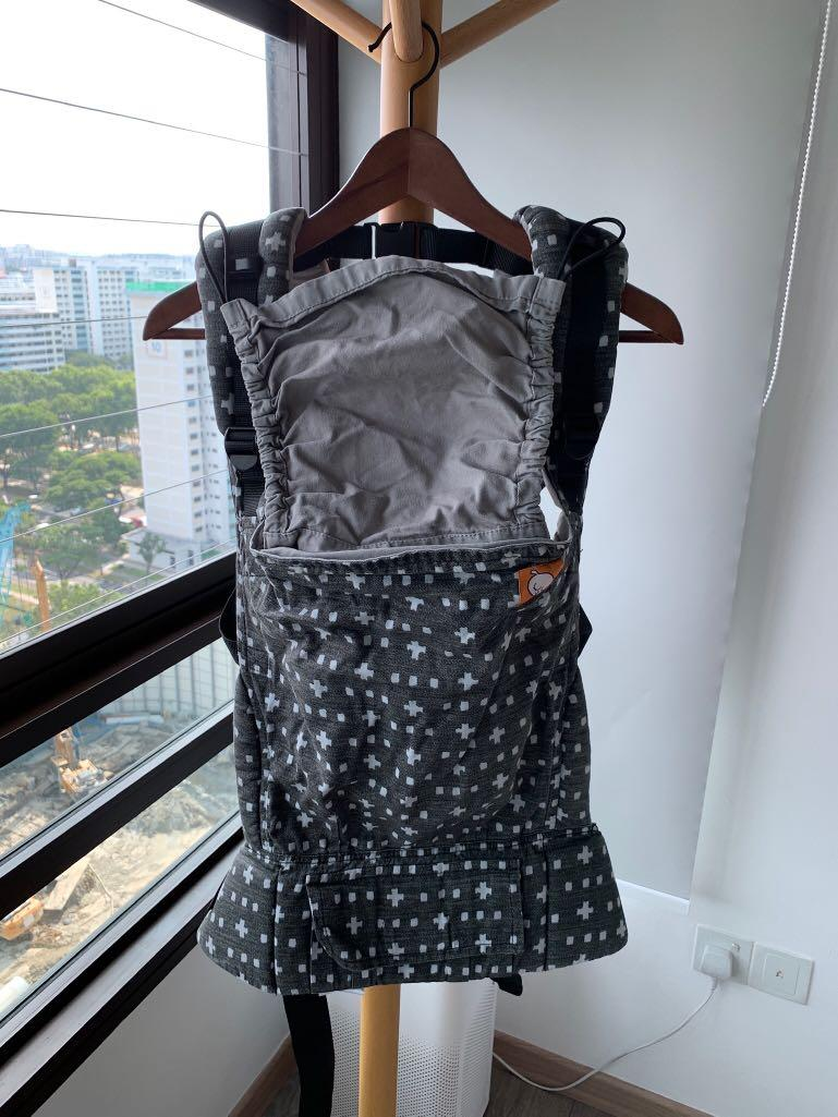 Tula Full-Printed Baby Carrier (Standard Size with drool pads ) - Jet