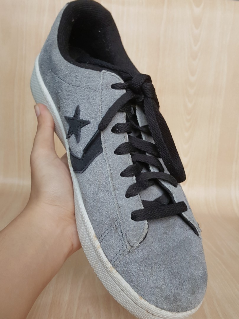 USED Converse CON Pro Leather in Gray