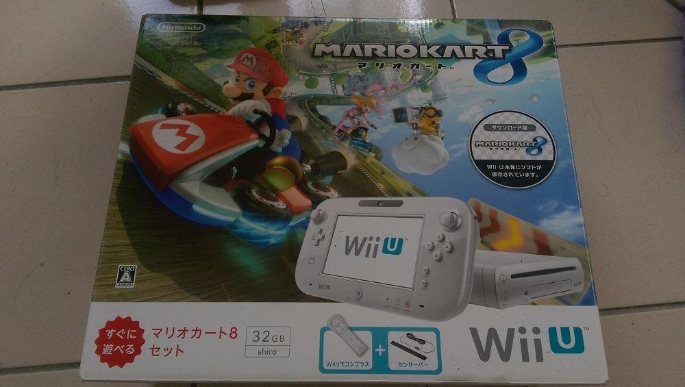 Wii U 32G白 馬力歐賽車同捆組
