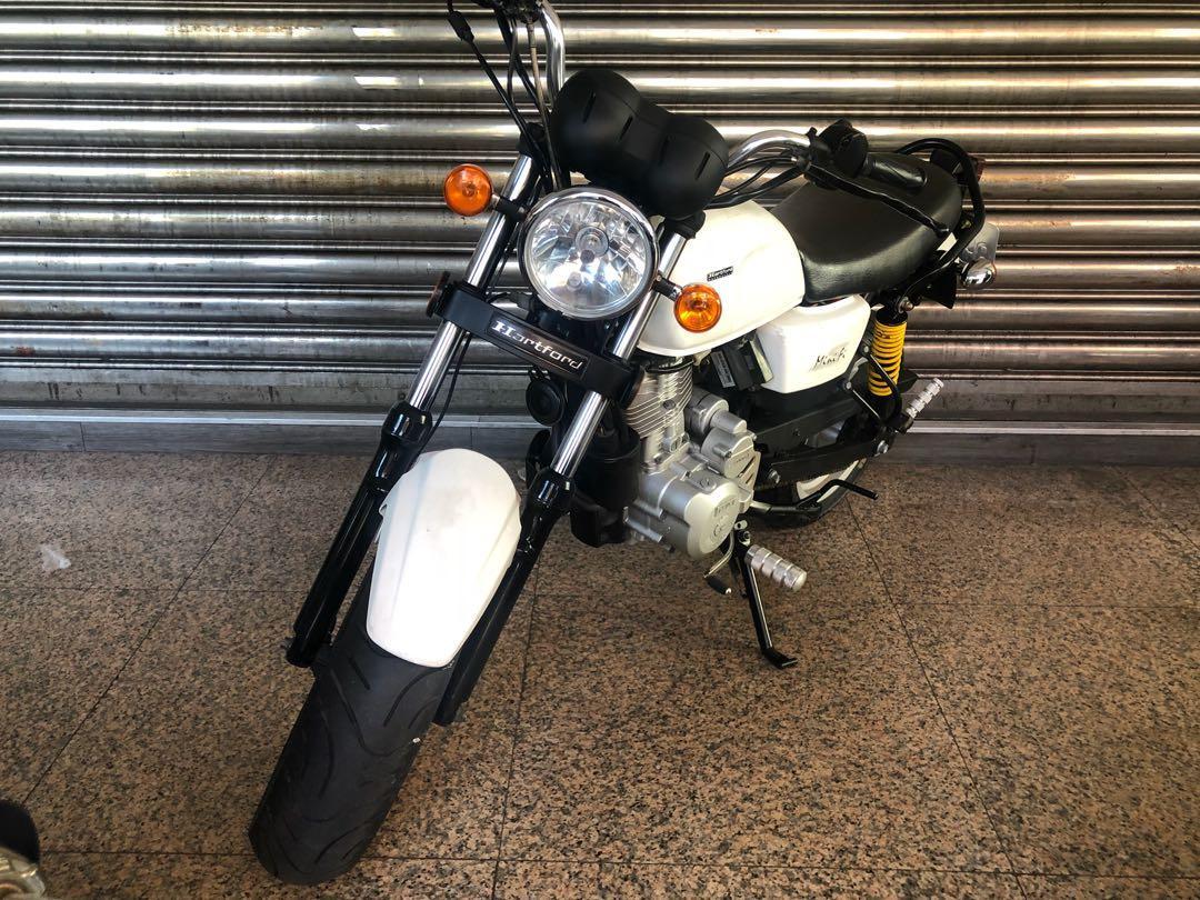 2012年 哈特佛 小雲豹125cc 五期噴射 國際檔