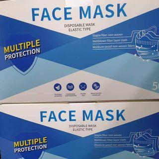 3 Ply Adult Mask