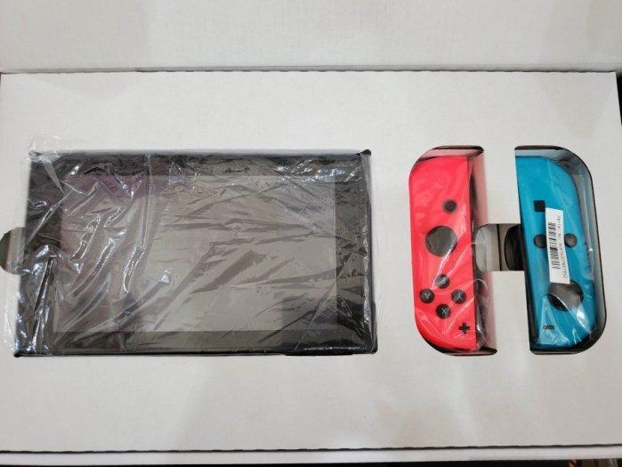 聯翔通訊 藍紅 任天堂 Nintendo Switch 台灣貨 少用超級新 原廠盒裝 ※換機優先