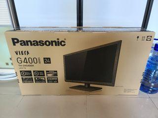 全新 Panasonic 24寸 及 9成新 Samsung 22寸 電視合共2架