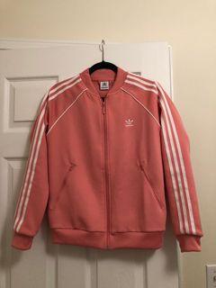 Adidas track jacket size small