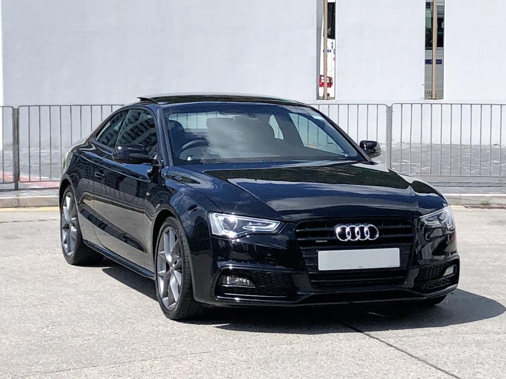 Audi    A5 2.0T COUPE QUATTRO SLINE   2014 Auto
