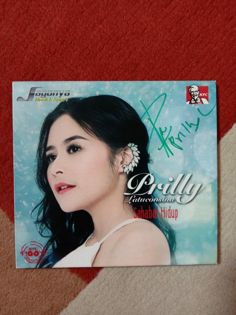 CD Prilly Latuconsina - Sahabat Hidup (Bertandatangan Asli)