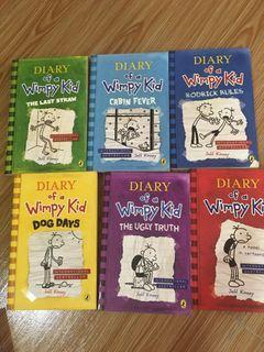 Wimpy Kid Diaries Books