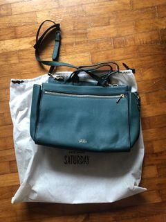 Kate Spade Saturday bag teal green