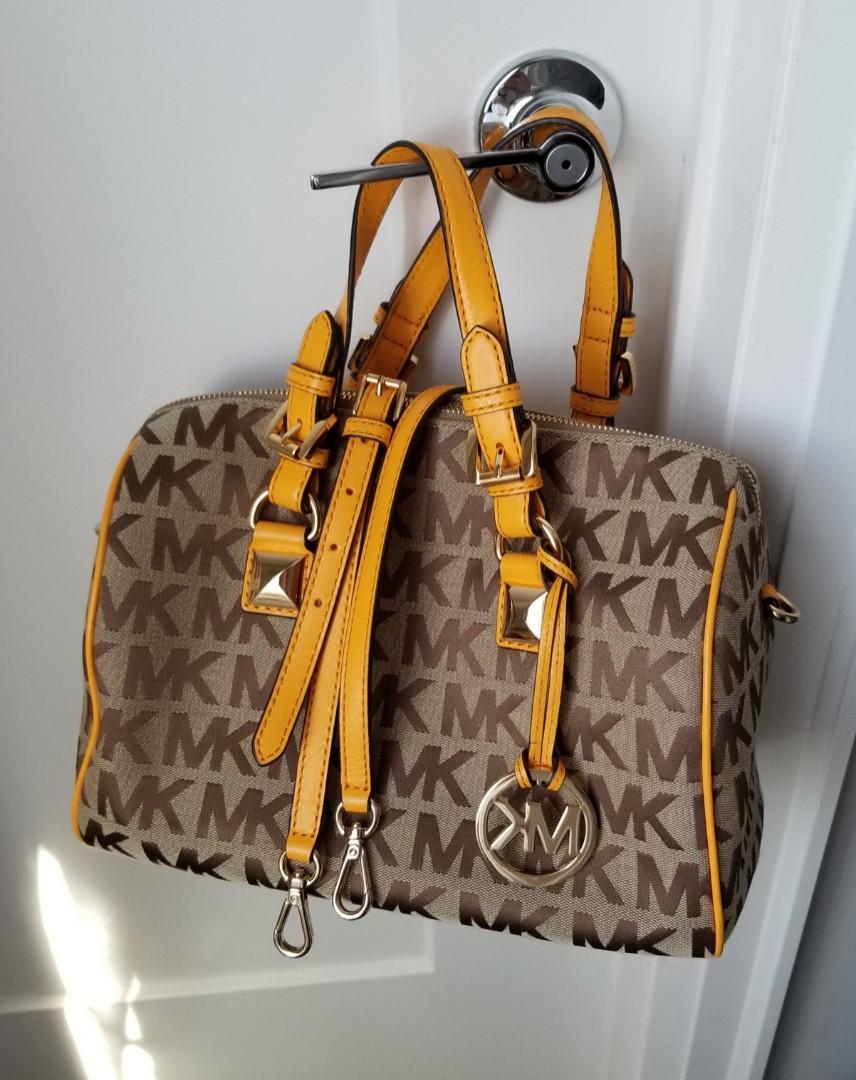 MICHAEL KORS Grayson Satchel Bag