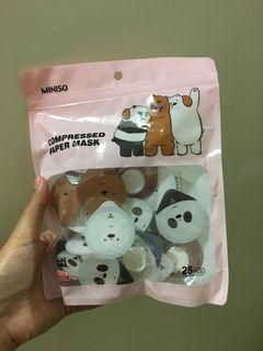 Miniso Compressed Face Mask