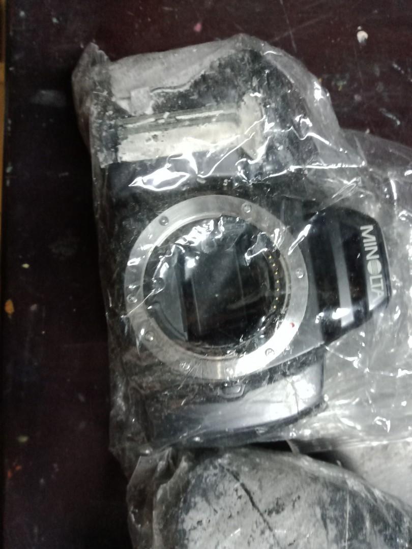Minolta 3xi 5xi 手把 白化 無電池 正常
