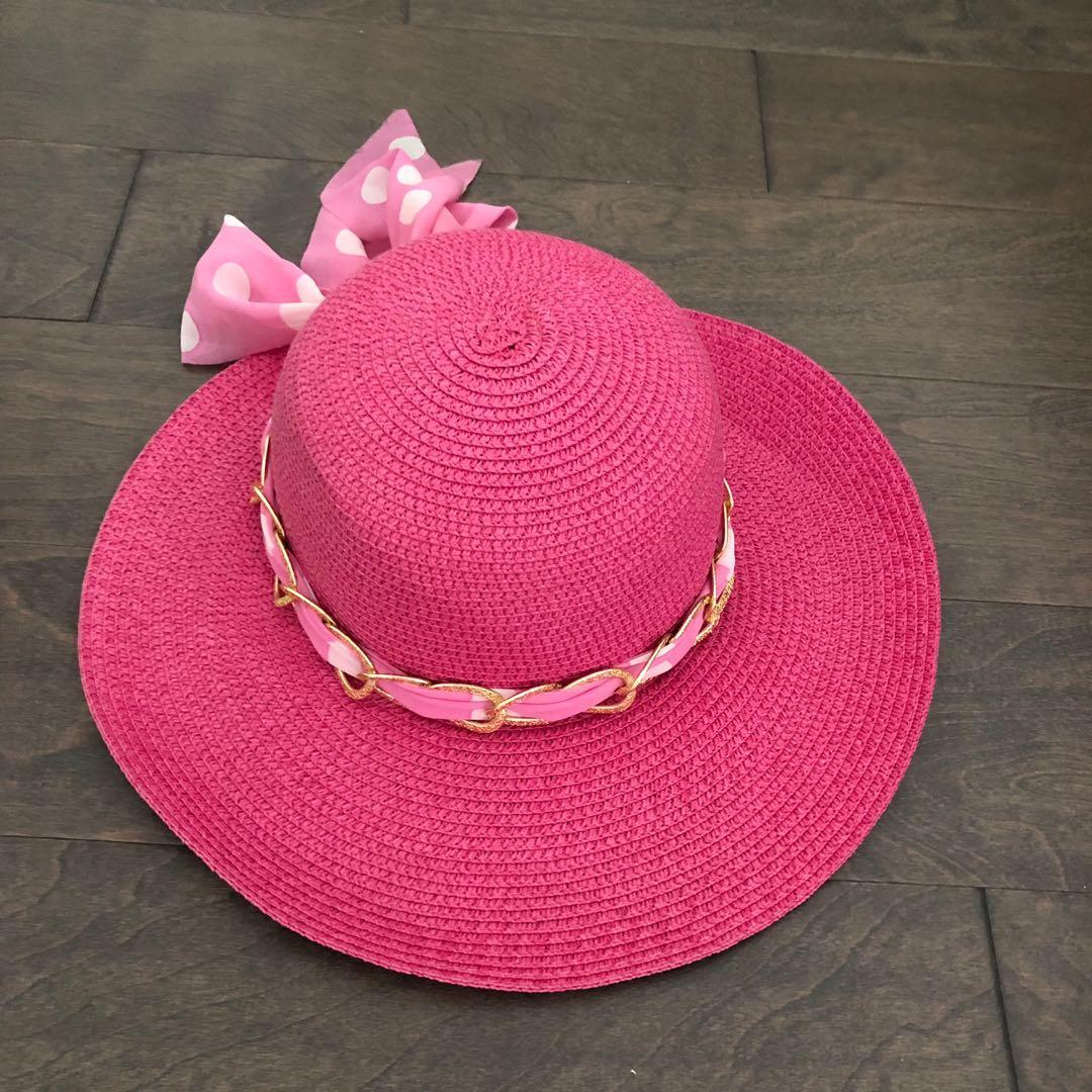 Pink Sunhat