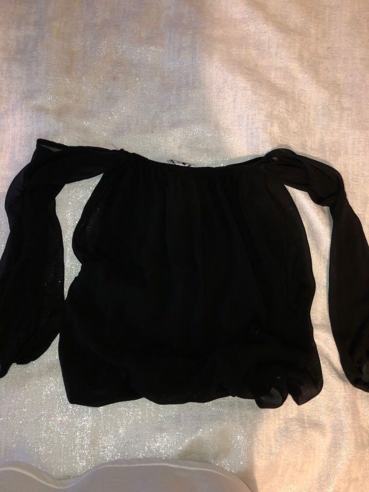 SABO skirt off the shoulder top
