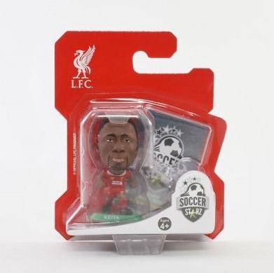 //Figures 2020 Version SoccerStarz Liverpool Naby Keita Home Kit