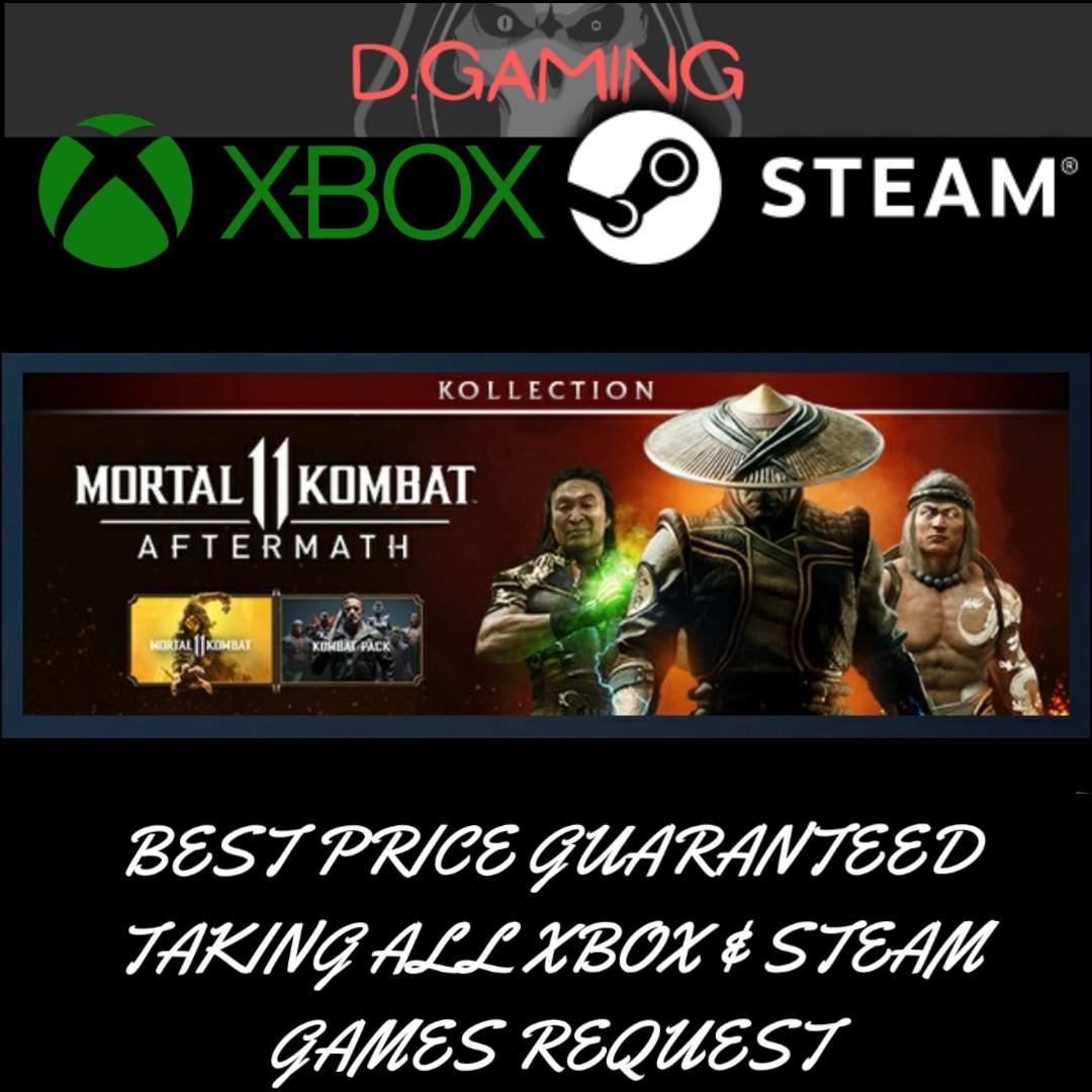 Steam Mortal Kombat 11 Aftermath Kollection Toys Games Video