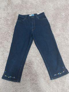 Stretch jeans 7/8
