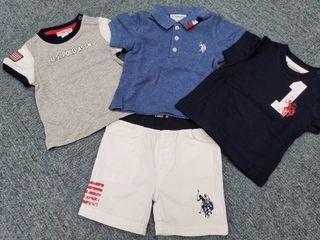 U.S. Polo Assn.  嬰兒套裝  (3-6M)