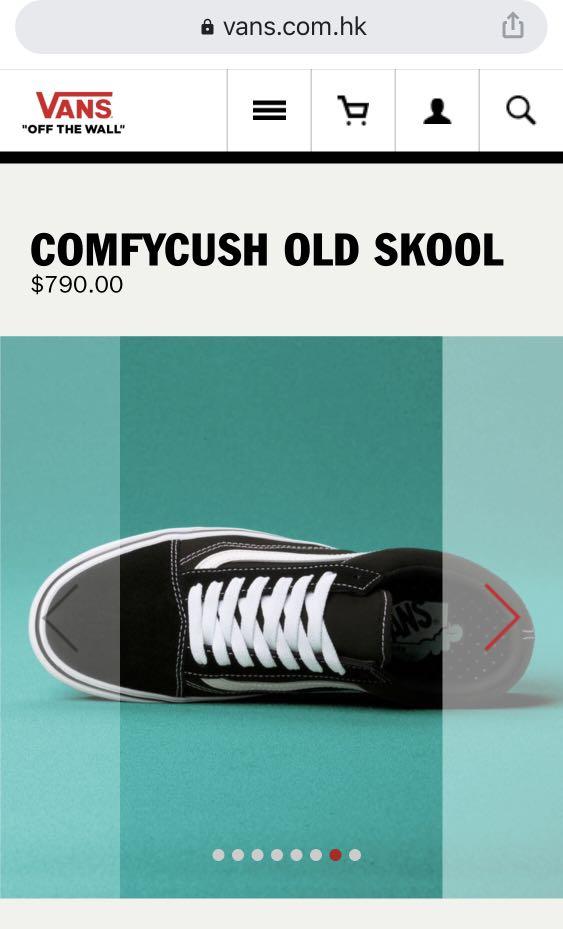 全新Vans Comfy Old Skool 37碼, 女裝, 女