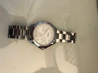 Women's Silver Fossil Watch