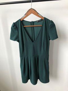 ZARA Green Jumpsuit