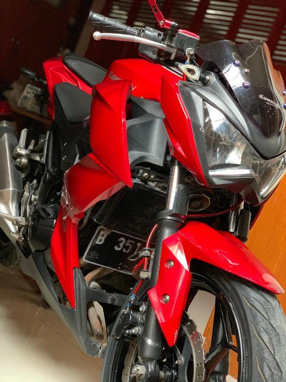 2013 Kawasaki z250 fi 2 silinder red bekasi utara