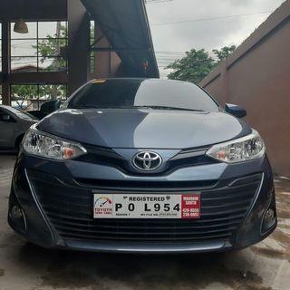 2019 Toyota Vios E AT Automatic Auto