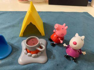 正版 【Peppa Pig 粉紅豬】粉紅豬小妹-露營組 (降價囉!)