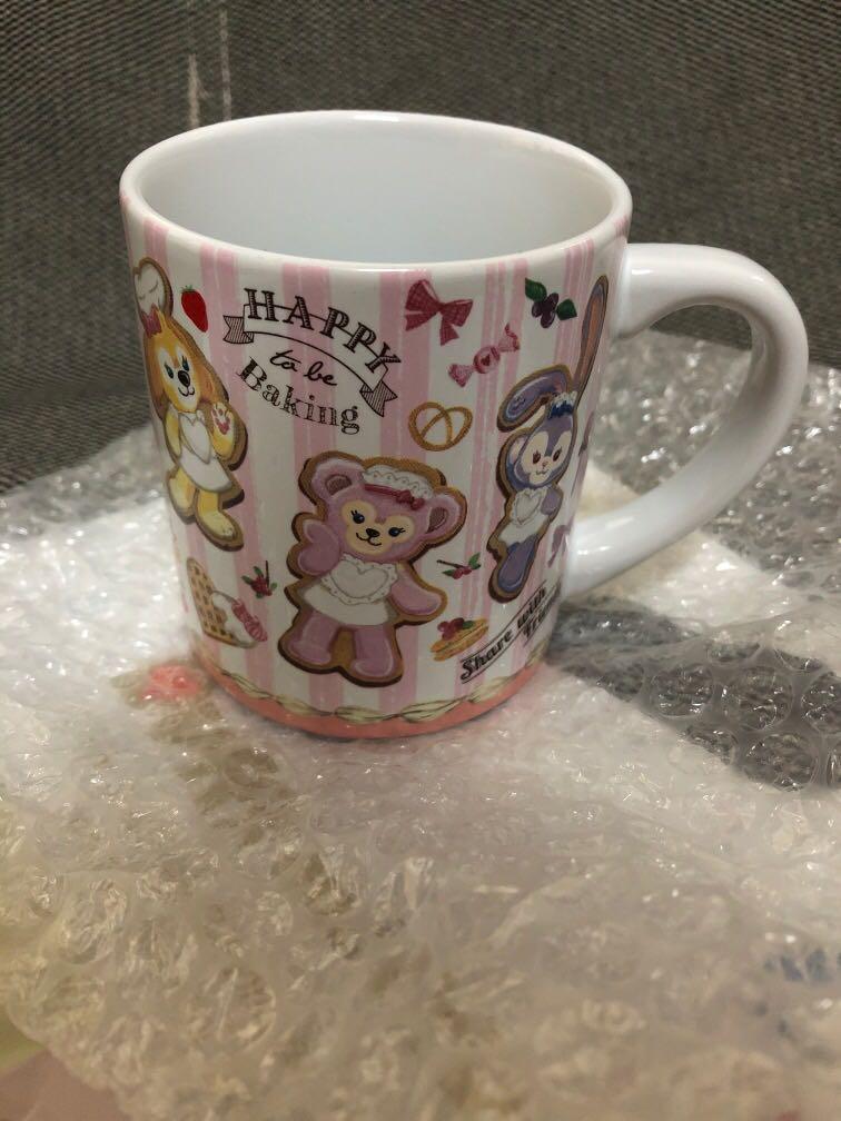 日本海洋迪士尼 達菲/雪莉梅/畫家貓/史黛拉兔 馬克杯