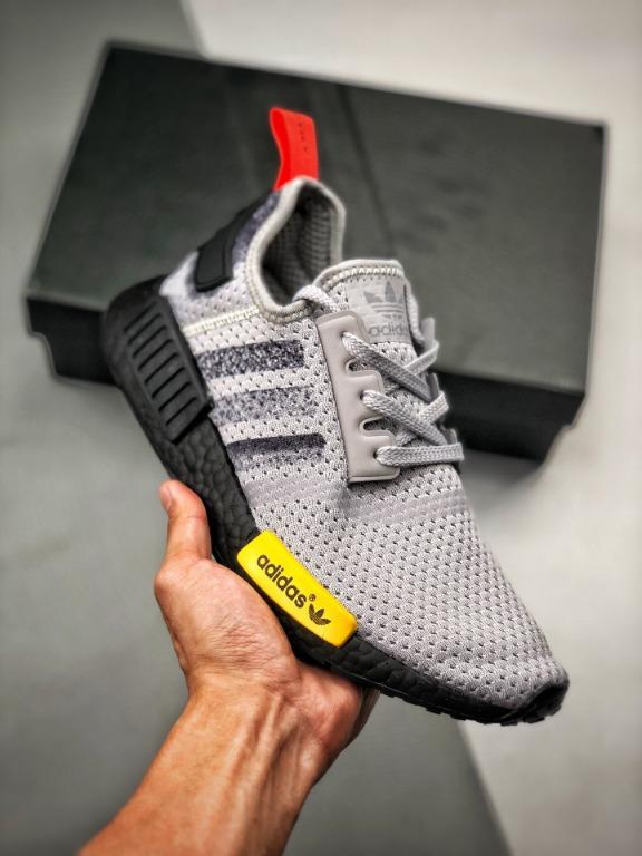 gray adidas nmd womens