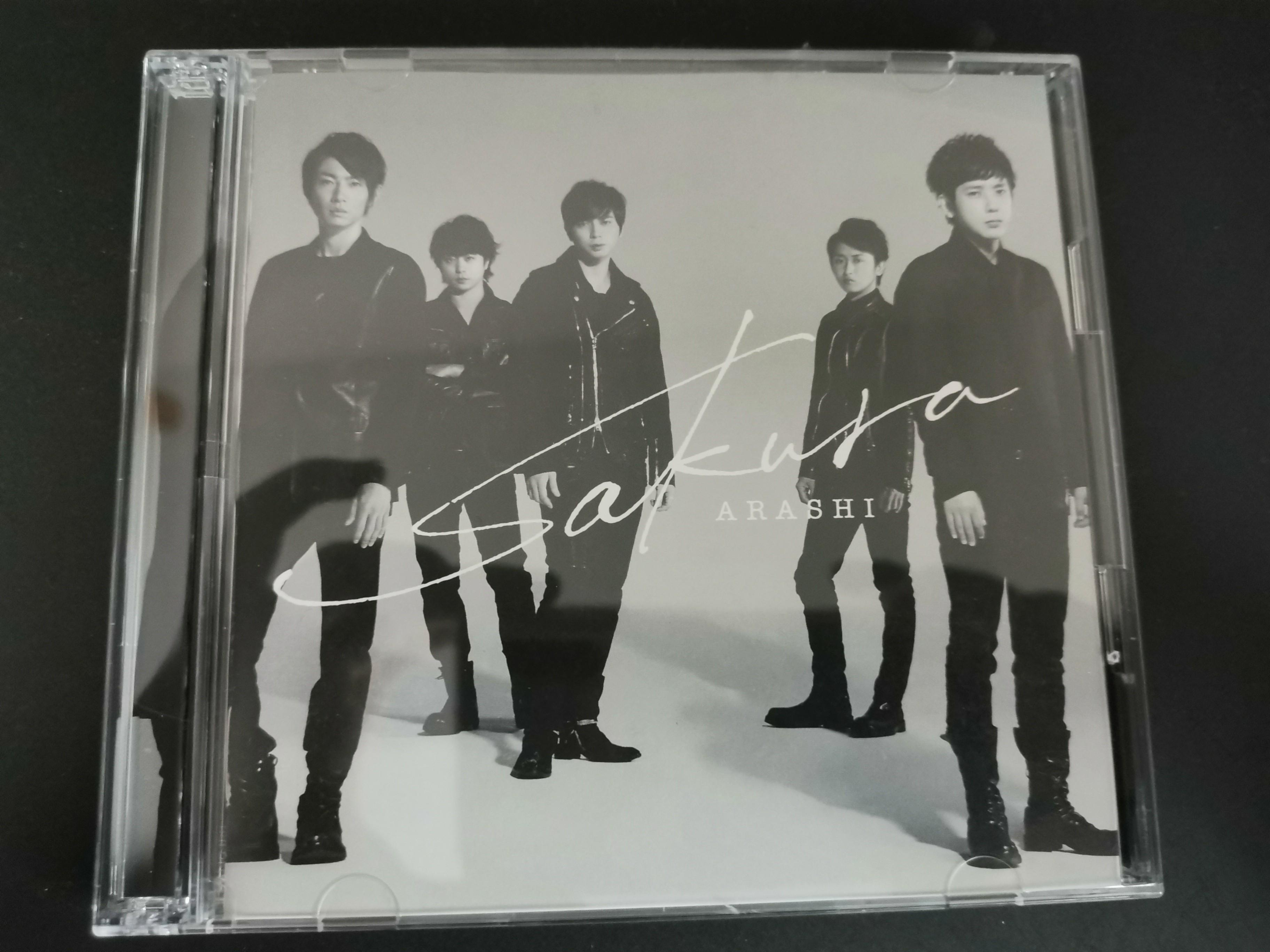 Arashi 嵐 Sakura 初回限定盘 CD+DVD