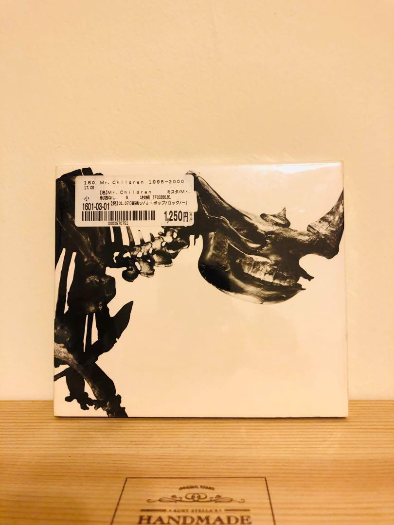 [日本帶回]BOOK-OFF購入 Mr.Children 1996-2000 精選輯 骨盤 CD 日版 正版