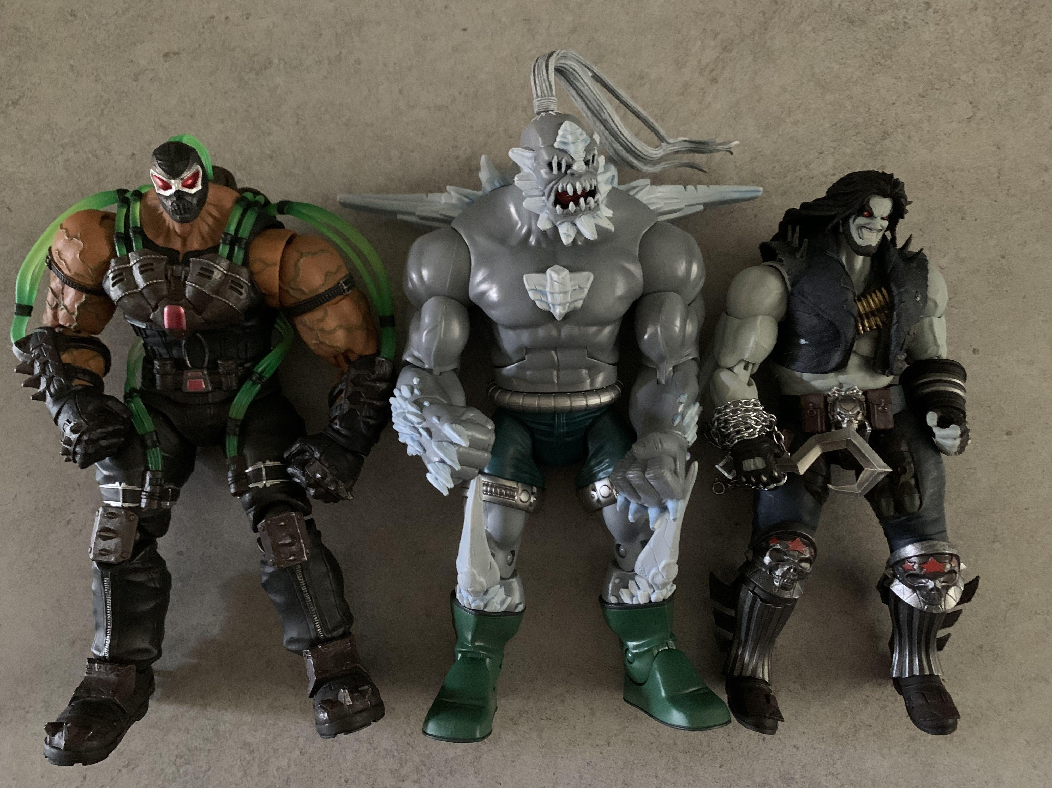 Dc Universe Classics Dcuc Direct Collectibles Sdcc Exclusive 2014 Doomsday Toys Games Bricks Figurines On Carousell