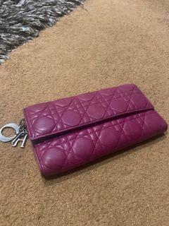 dior wallet ( dompet )